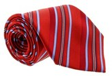 Gianfranco Ferre J028 U12 Red/blue Silk Mens Tie.