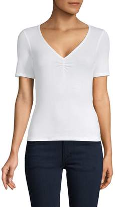 Project Social T Ribbed Short-Sleeve Top