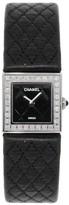 Chanel H1708 J12 Diamond Bezel Black Dial Ladies Watch