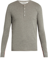 Paul Smith Long-sleeved jersey henley pyjama top