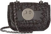 Hill & Friends Liquorice Leopard Happy Tweency Chain Bag