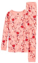 Tea Collection Girl's Caer Fitted Two-Piece Pajamas