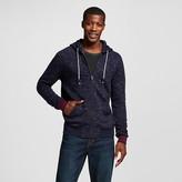 Merona Men's Full Zip Hoodie Navy Blue