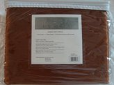 Chezmoi Collection Soft Silky Satin Solid Mocha Brown 4pc Deep Pocket Sheet Set for Full/double Bed