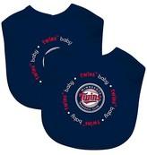 Baby Fanatic MLB Baby Bib 2 pack - Minnesota Twins