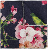 Gucci GG and Blooms print scarf - women - Wool - One Size