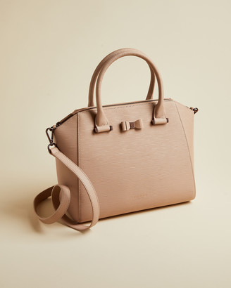 Ted Baker DARYYL Medium leather tote bag