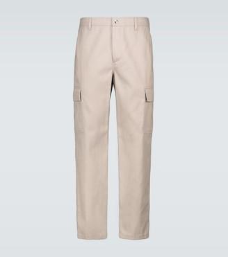 Valentino cotton twill cargo pants