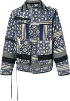 Craig Green quilted patchwork jacket - men - Cotton/Nylon - XS