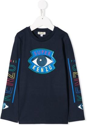Kenzo Kids Eye Print Sweatshirt