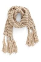 BP Women's Fringe Knit Scarf
