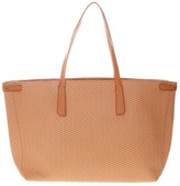 Zanellato Tote Duo Grand Tour Bag In Orange Resined Canvas