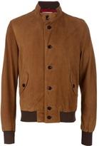 Dacute Suede bomber jacket