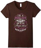 Men's W- I'm A February Girl T-Shirt XL