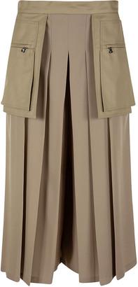 Max Mara Side Zipped Pocket Pleated Trousers