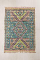 Urban Outfitters Alder Overdyed Printed Jute Rug