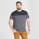 Goodfellow & Co Men's Big & Tall Standard Placed Short Sleeve Crew T-Shirt - Goodfellow & Co - Striped