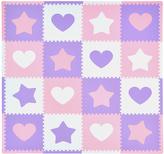 Tadpoles Purple & Pink Hearts & Stars Playmat Set