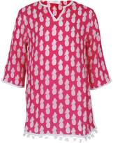 Snapper Rock Pineapple Print Kaftan
