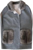 SAM. Rone Grey Mink Coat for Women