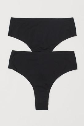 H&M 2-pack Brazilian Briefs 1-Size
