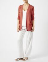 Monsoon Colette Linen Blend Cardigan