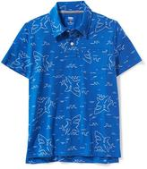 Old Navy Printed Pocket Polo for Boys