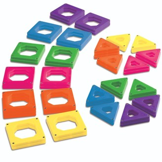 Discovery Kids 50-pc. Magnetic Tile Set