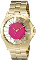 Jivago Women's JV8413 Fun Analog Display Swiss Quartz Rose Gold Watch
