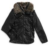 Joujou Faux Fur-Trimmed Jacket