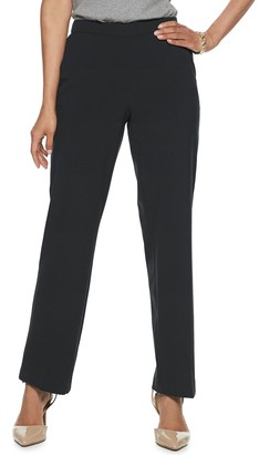Croft & Barrow Women's Classic Pull-On Dress Pants