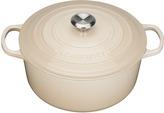 Le Creuset Cast Iron Round Casserole Almond - 28cm
