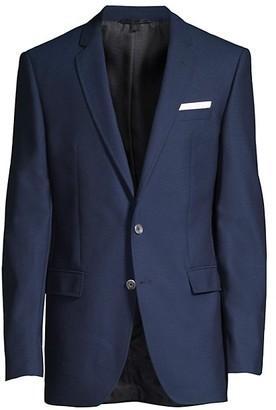HUGO BOSS Hutson Slim-Fit Virgin Wool Sportcoat