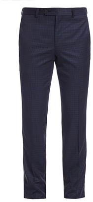 Saks Fifth Avenue MODERN Subtle Check Suit Trousers