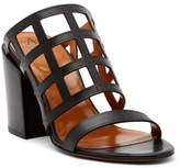 Aquatalia Frederica Caged Leather Mule Sandal