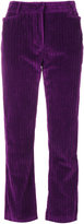 Philosophy Di Lorenzo Serafini ribbed cropped straight trousers