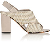 Vince WOMEN'S FAINE STRAW & LEATHER SANDALS-NUDE SIZE 6