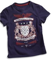 GUESS big boy short-sleeve embroidered screen tee