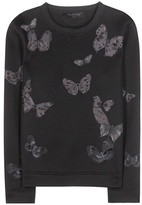 Valentino Embroidered Sweatshirt With Appliqué