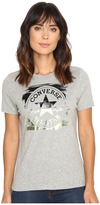 Converse Metallic Core Patch Crew Tee