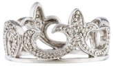 Sydney Evan 14K Diamond Crown Band Ring