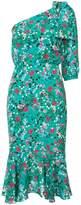 Saloni Juliet floral dress
