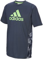 adidas Boys 8-20 Smoke Screen climalite Tee