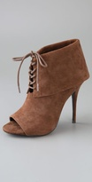 Elizabeth And James Lizzy Suede Cuff Booties