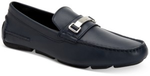 Calvin Klein Men's Maddix Textured Drivers with Bit Men's Shoes