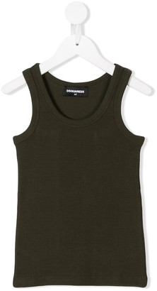 DSQUARED2 Ribbed Tank Top