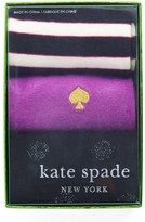 Kate Spade Women's Patterned Crew Socks