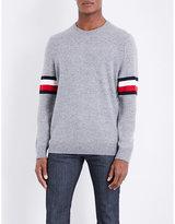 Tommy Hilfiger O'connor Logo-striped Wool-blend Jumper
