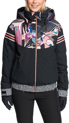 Roxy Pop Snow Meridian Waterproof Jacket