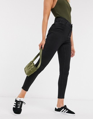 New Look shape and lift skinny jean in black